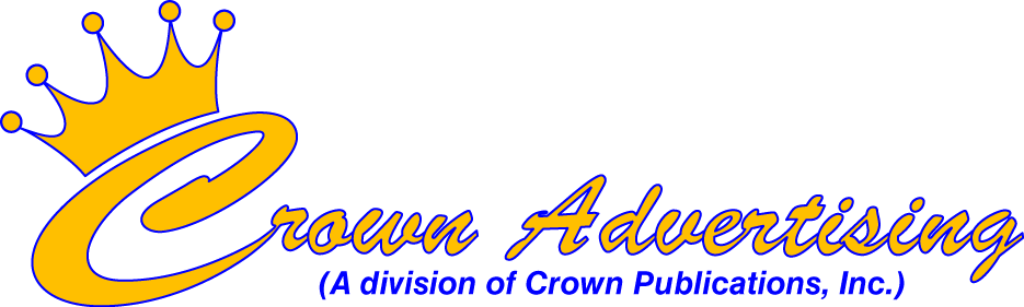 Crown Advertising Specialties. 217-552-4773.