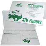 #27 ATV Document Holder