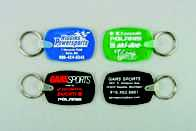 Dog Tag Shaped Keytags